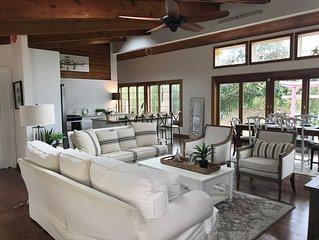 Gorgeous Malibu-Style Beach House, 1 Block to Ocean,  Stunning Renovation!