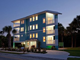 Hutchinson Island New  Architectural Dream Home; Stunning Panoramic Ocean View!