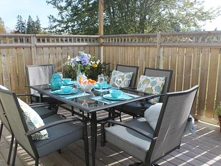 Air conditioned Family Vacation Rental. Close to beautiful beaches and trail