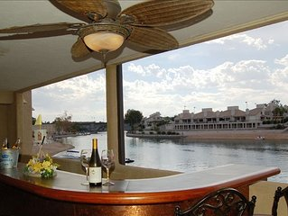 KingsView Water Front Condo on the Channel with view of London Bridge