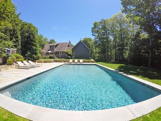 LUXURY RENOVATION FOR 2019! Montauk Home with Pool + Walk to Ocean Beach