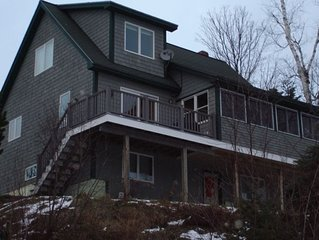 Rangeley Lake House 75 Feet from Waters Edge