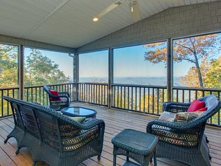 Family-friendly home w/amazing view/privacy. Caesars Head, SC. Near Brevard, NC
