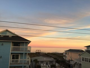 Carolina Beach Spectacular Views from Front & Back,  Pool & Wifi - Renovated
