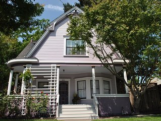Walk to downtown or minutes from freeway! Beautiful Victorian Centrally Located!