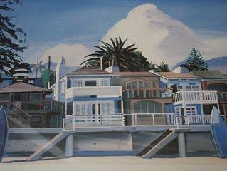The Blue Beach House - on the Sand at Miramar Beach,Montecito