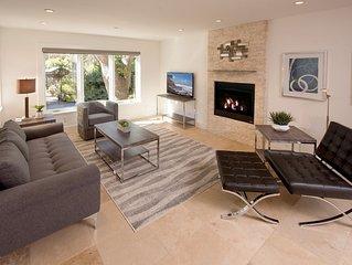 New Design 'Carmel Stonehouse' Located in Village near Beach sleeps 6