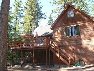 Tahoe Lakefront / Beach Access in Cozy Cabin W/ Modern Conveniences.