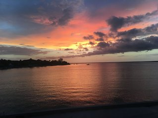 Enjoy The Most Beautiful Sunset On The Island From This Tropical Oasis!