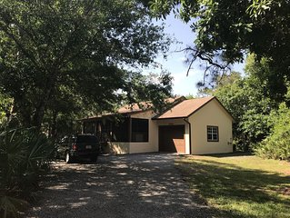 Hobe Sound Natural Setting, new to the market! Great birding and wildlife!