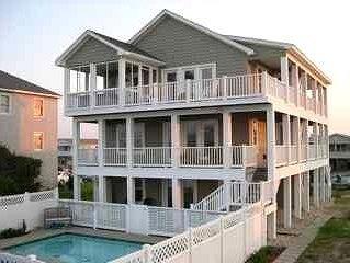 Sandbar is pet friendly modern beach home close to beach road, 10.5 milepost