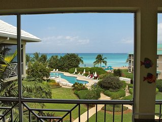 What a View!--Enjoy this Luxury Condominium Located Right on Seven Mile Beach