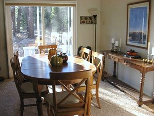 Truckee.  Updated and Comfortable. Hot Tub.  Dog-friendly Too!