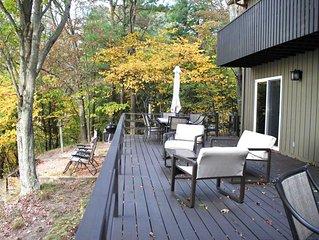 Lake Michigan Cottage at Garrison Beach
