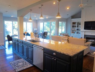 Newly renovated home across the street from beach with lagoon views, elevator