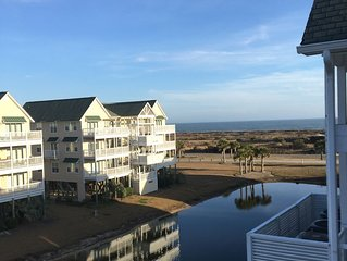 Oceanview Top Floor Islander Villa, Elevator, Linens/Beach Chairs/Umbrella  Incl