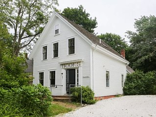 Charming Antique In Wellfleet Center -- walk to shops and beach!  Summer weeks!