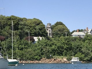 Ocean views of Martha's Vineyard and Little Harbor, 5 story 1870's WINDMILL