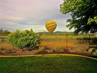 Vineyard Views in the Heart of the Napa Valley