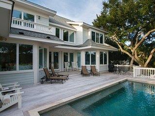 Spacious Luxury Home, Vanderhorst Plantation, Saltwater Heated Pool, Marsh Views
