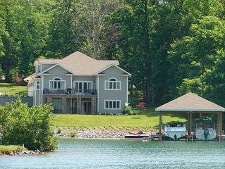 Huge Waterfront Home, on Golf Course, Pools, Beaches, Tennis & More!