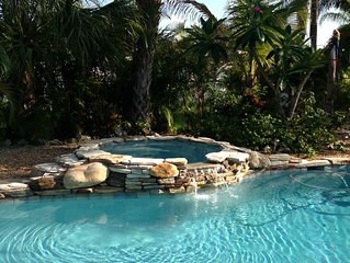 Book Now September rates $240/ night Relaxing Beach home footsteps to the beach