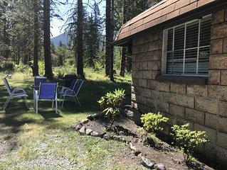 Elk Cottage At The Base Of Mt Rainier