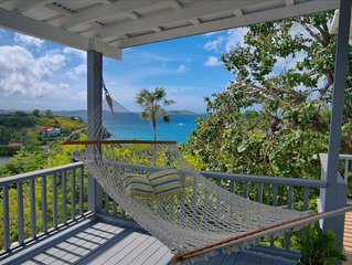 New on the Rental Market! Cruz Bay 2 Bdrm Condo W. Ocean View