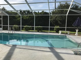 Peaceful Pool/Beach Retreat Ormond by the Sea