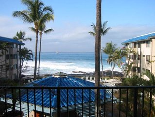 Kona Reef Luxury Oceanfront Condo-Great Location on Alii Drive