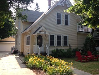 DOWNTOWN Elkhart Lake..on Desirable Lake St  - Superior Shabby Chic Upper Condo