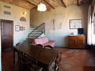 FARMH.PODERE CUNINA 25 KM SOUTH  SIENA/ MONTALCINO TAKING COOKING CLASS