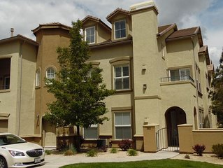 Upscale Townhome in gated community off Mt. Rose