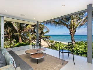 Modern Haleiwa Beachfront Luxury