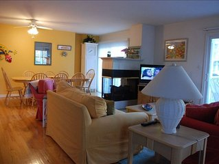 View as you enter our home of living room & dining area