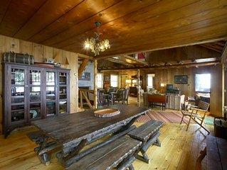 Lake Michigan 1945 Log Cabin Cottage Home