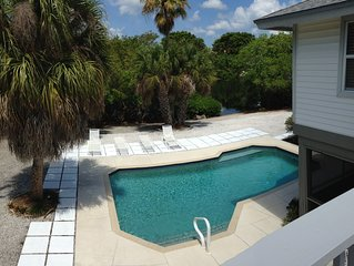 Directly on Boca Grande with Private Pool