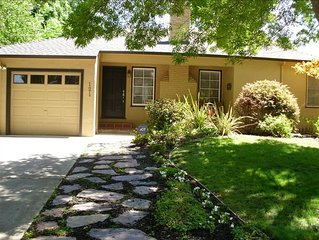 Charming East Sac 3 br Close to Downtown, Sac State, UC Davis Med Center