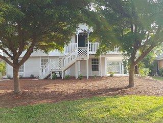 A Peaceful Florida Stilt Home On A Quiet Cul-de-sac Overlooking A Golf Course.