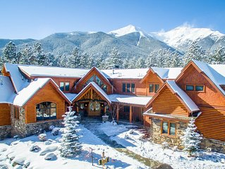 Eagle Summit is a 12,000 Sq. Ft. Private Chalet! Accommodates 24 Comfortably!