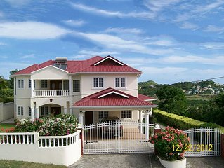 Tranquil, Elegant & Private Group & Family Vacation Rental in St Lucia