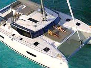 2020 Sanoa 47, Amazing Crewed Catamaran Experience