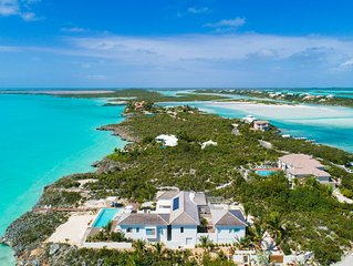 Hesperides House - Luxury Water Front Villa In Turks And Caicos Islands!