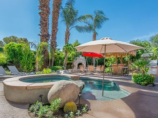 GREAT Yard-Hot Tub-Dipping Pool-fruit trees-Cabanna with a 50 inch outdoor TV