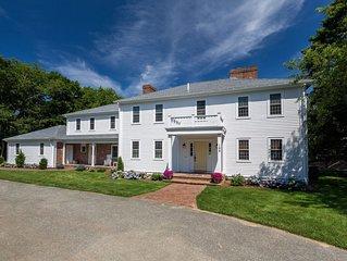 Luxurious farm house colonial with pool & amenities near beach. Sleeps 20.