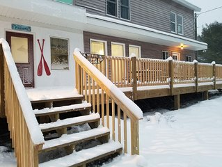 Private Snowmobile/ATV Trail and Garage access, near Au Train Beach and River!