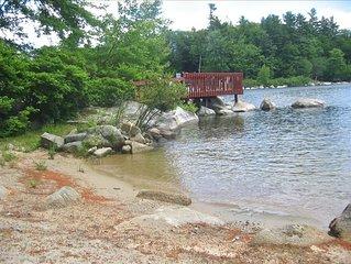 Big Sebago Lake - Sandy Beach & Privacy & Canoe