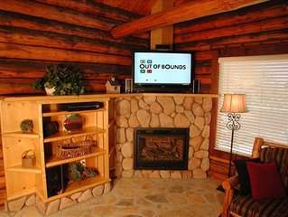 Tahoe Log Cabin Walk to the Beach, Hot Tub, Sleeps up to 14