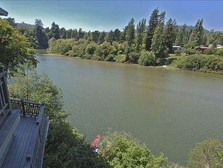 Riverwest - Amazing Views, Sunny, Riverfront, Private,Tranquil