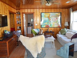 COTTAGE- 3 bedroom, 2 bath, renovated, super clean, across street from beach
